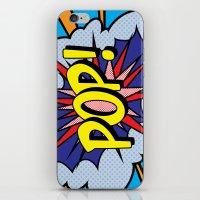 POP Art 4 iPhone & iPod Skin