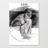 Jasper Johns Canvas Print