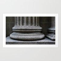 'Pillar 2' Art Print