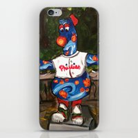 Phillies Statue iPhone & iPod Skin