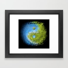 Concordia Discors II Framed Art Print