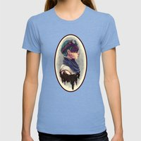 Imperator Furiosa Womens Fitted Tee Tri-Blue SMALL