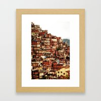 Cantagalo Framed Art Print