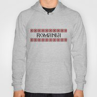 Romania Nation Text Hoody