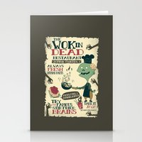 The Wok In Dead (v.2) Stationery Cards