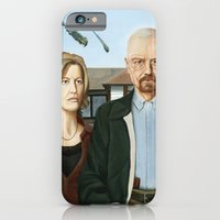 iPhone & iPod Case featuring The Heisenbergs by Brian DeYoung Illustration