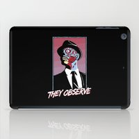 They Observe iPad Case