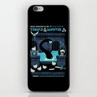 Templo De Los Muertos iPhone & iPod Skin