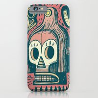 iPhone & iPod Case featuring Vision étrange by Exit Man