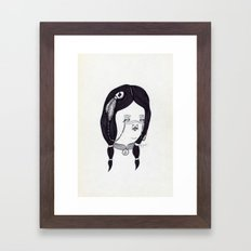 Apache Wife Framed Art Print