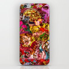 Mini slices brought together push away the stormy weather iPhone & iPod Skin