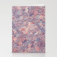 Space Is Only Noise Stationery Cards