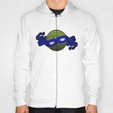 the blue turtle Hoody