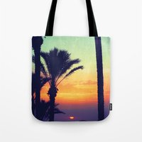 Ibiza Sunrise Tote Bag