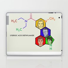 Lysergic Acid Diethylamide Laptop & iPad Skin