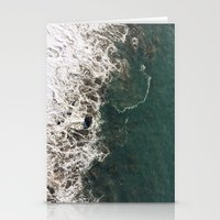Wave Crash Stationery Cards