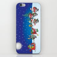 Hedgehog's Christmas Mag… iPhone & iPod Skin
