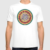 Lost In Color Mens Fitted Tee White SMALL