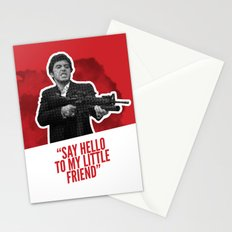 Badass 80's Action Movie Quotes - Scarface Stationery Cards