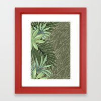 A Run Through the Jungle Framed Art Print