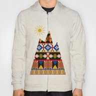 Colourful Tribal Aztec P… Hoody