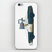 The Blues Brothers Bluesmobile 2/3 iPhone & iPod Skin