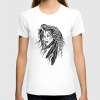 native american T-shirts featuring Native American by JonathanStephenHarris