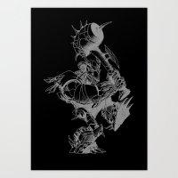 Sweet monkey Art Print