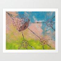 Dream-weaver Art Print