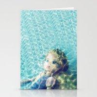 Underwater (Kid Art) Stationery Cards