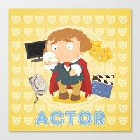 Actor Canvas Print