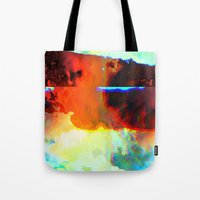 23-03-44 (Cloud Glitch) Tote Bag