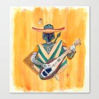 Boba Bandito Canvas Print