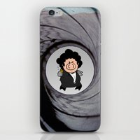 The Pig With The Golden … iPhone & iPod Skin