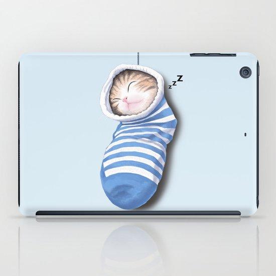 Cat in the Sock iPad Case