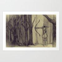 Legolas LOTR - The Noisy… Art Print