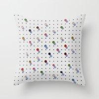 Pin Points Throw Pillow