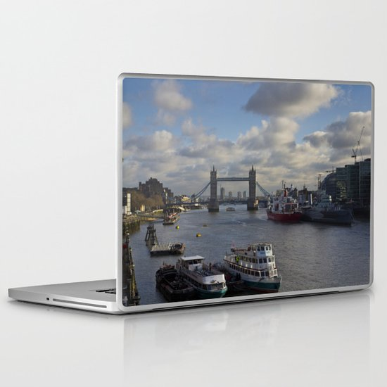 The River Thames Laptop & iPad Skin