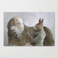 Creature and Healer Canvas Print
