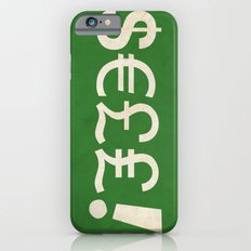 Subliminal Currency iPhone 6s Slim Case