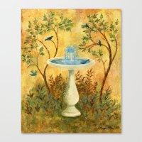 Peace Garden Canvas Print