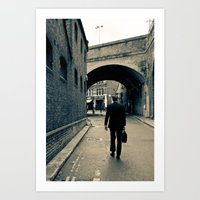 London hidden places  Art Print