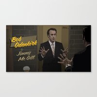 Canvas Print featuring Jimmy McGill by Martin Woutisseth
