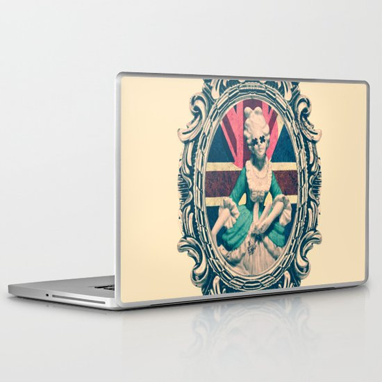 Bourgeoisie Woman Laptop & iPad Skin