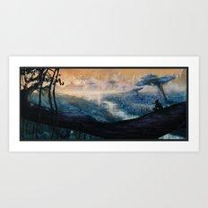 Plavim Forest Art Print