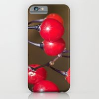 Red Berry Sparkle iPhone 6 Slim Case
