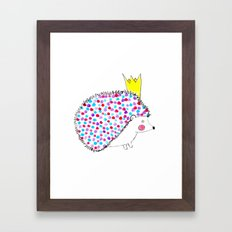 Hedgie Framed Art Print