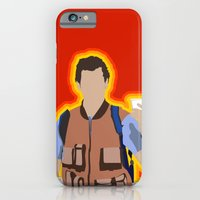 iPhone & iPod Case featuring Bobby Boucher: Waterboy by The Vector Studio