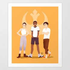 Sunshine Squad Art Print