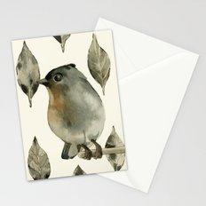 Grey Birdy Stationery Cards